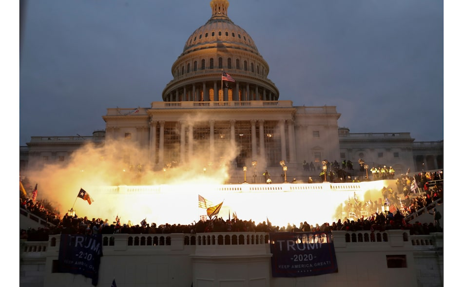 Facebook Tracking Rise in Violent Rhetoric Linked to US Presidential Inauguration