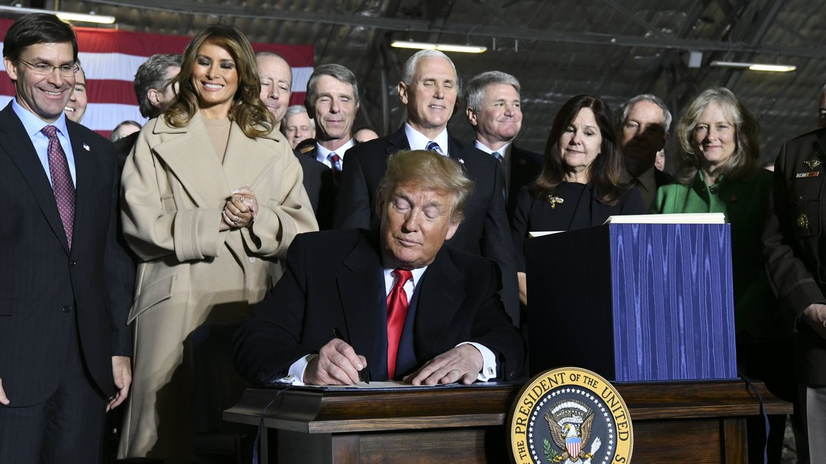Space Force: Donald Trump Officially Launches New US Military Service for Combat in Outer Space
