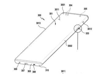 Samsung Patent Application Shows Waterfall Display, Tipped to Debut on Galaxy Note 20