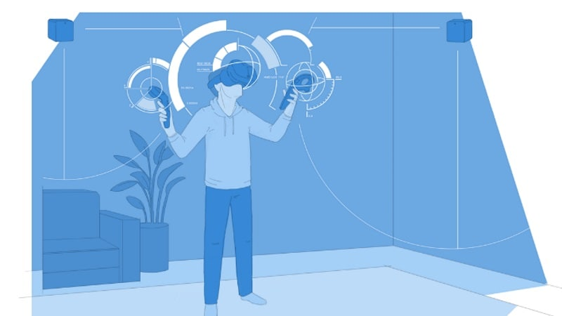 Valve to Sell Room-Scale SteamVR Trackers From Its Online Store; Linux Gets SteamVR Support