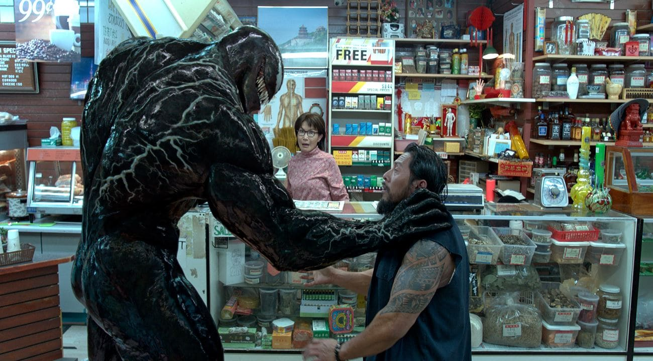 venom movie end Venom