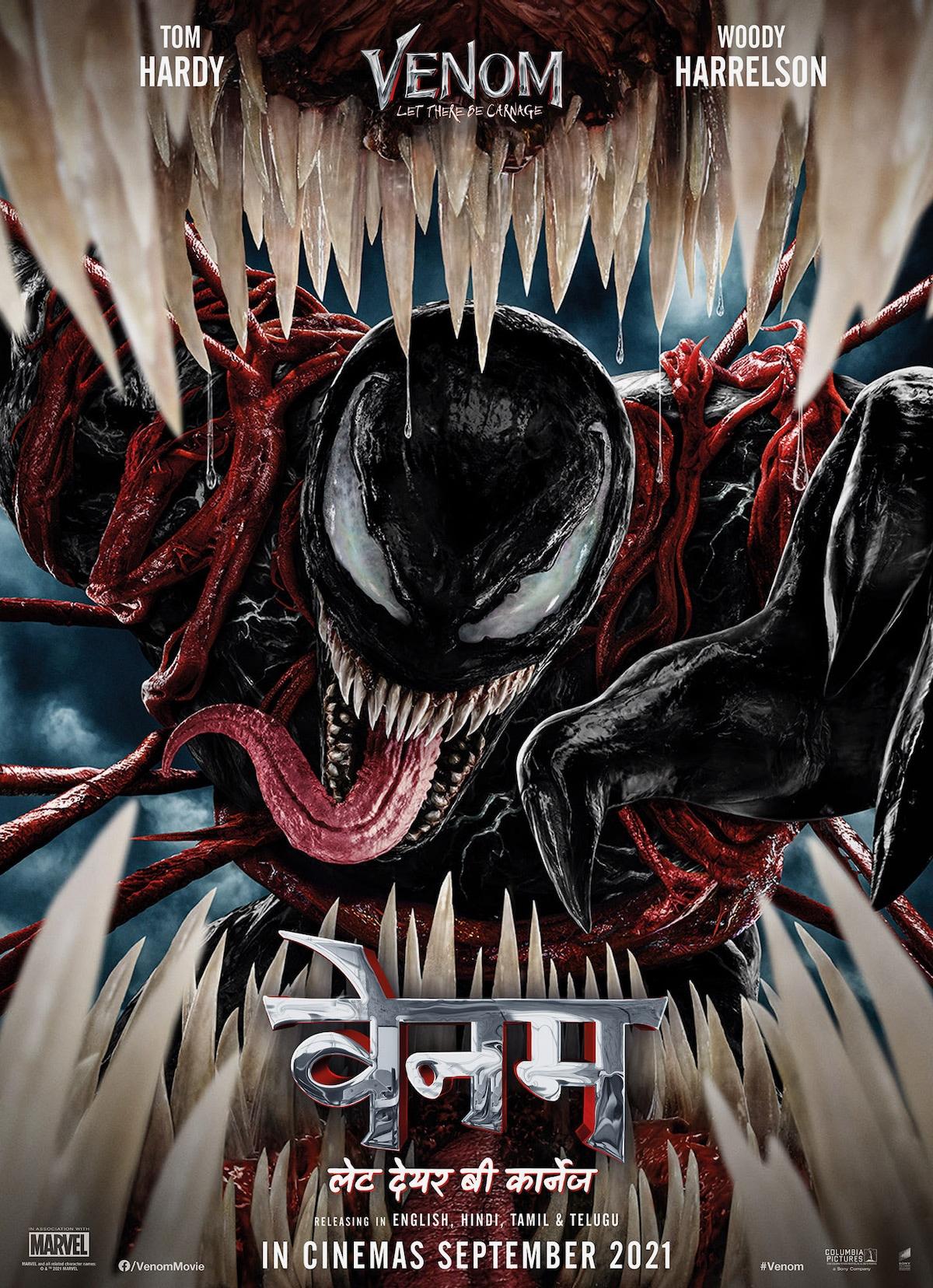 venom 2 poster hindi venom 2 poster hindi