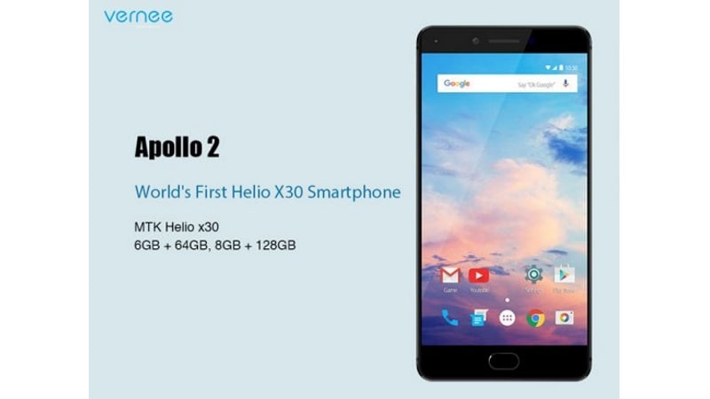 MWC 2017: Vernee Apollo 2 Launch Confirmed, With 8GB of RAM, MediaTek Helio X30 in Tow