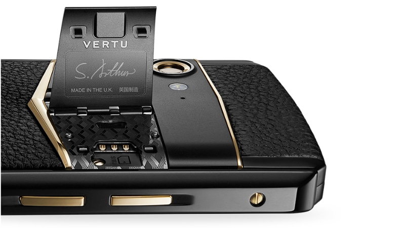 Vertu has unveiled its new smartphone