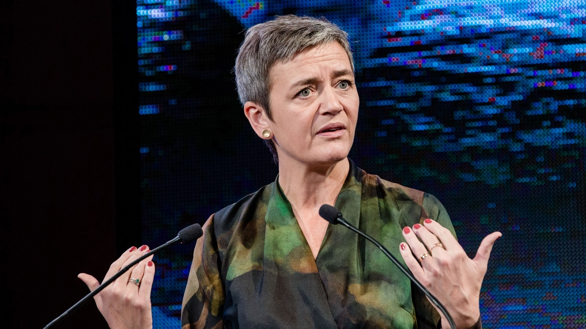 Tech Giants Brace as Vestager 2.0 Gets EU Power Upgrade