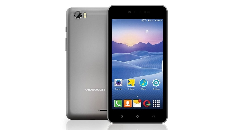 Videocon Delite 11+ With 4G VoLTE Support, Front Flash Launched at Rs. 5,800