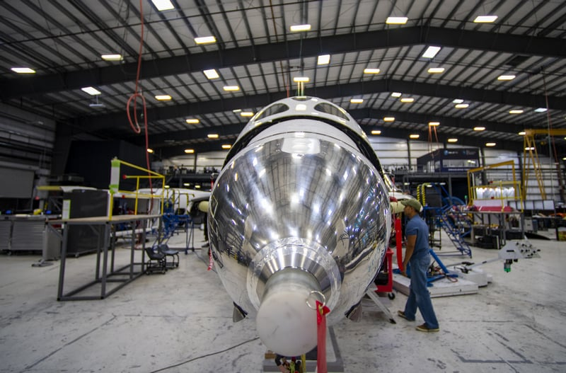 Virgin Galactic On Verge of Commercial Space Flight
