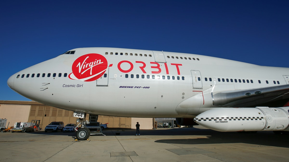 Richard Branson's Virgin Orbit Drops a Rocket From an Airplane