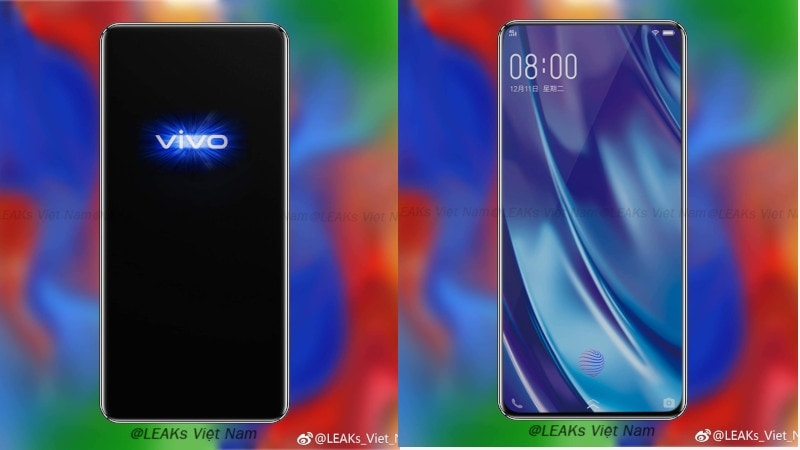 Vivo Apex 2019 concept render showcases the phone's bezel-less design