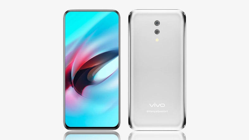 Vivo's Apex 2019 'Waterdrop' will have no buttons or ports