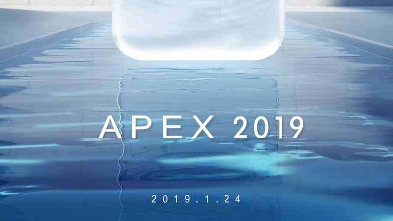 Vivo Apex 2019 Launch Set for January 24, Name Confirmed in New Teaser