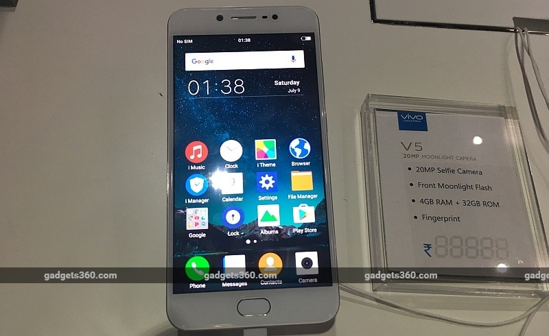 Vivo V5 Launched in India: Price, Release Date, Specifications, and More