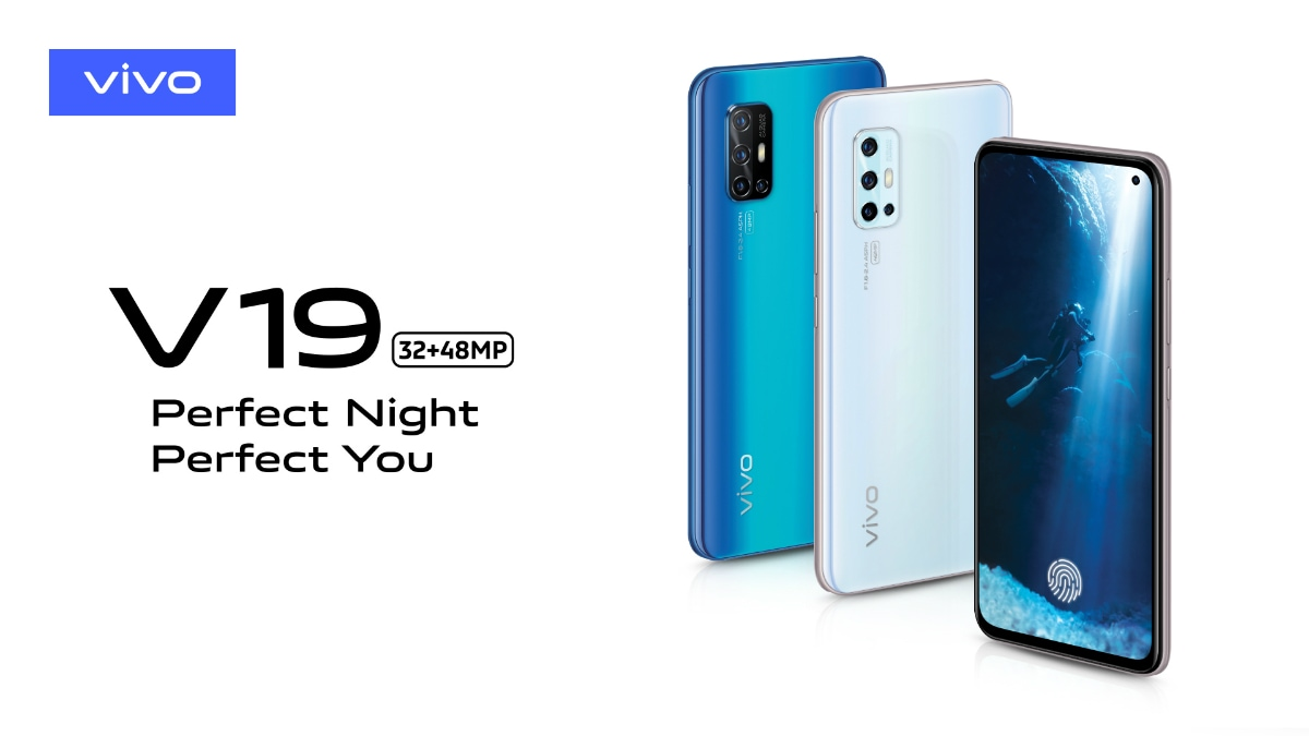 Vivo V19 Official Renders Revealed, Colour Options and Camera Specifications Teased