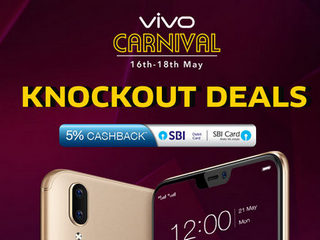 Vivo Knockout Carnival Offers Discounts and Cashbacks on Select Smartphones