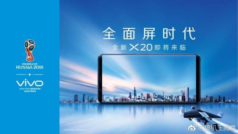 Vivo X20 और X20 Plus के स्पेसिफिकेशन लीक, बेज़ल-लेस डिज़ाइन होने का खुलासा