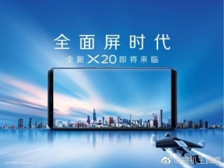 Vivo X20, X20 Plus Specifications Leaked, Tipped to Feature Bezel-Less Design