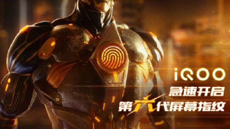 vivo iqoo fingerprint sensor weibo Vivo iQoo