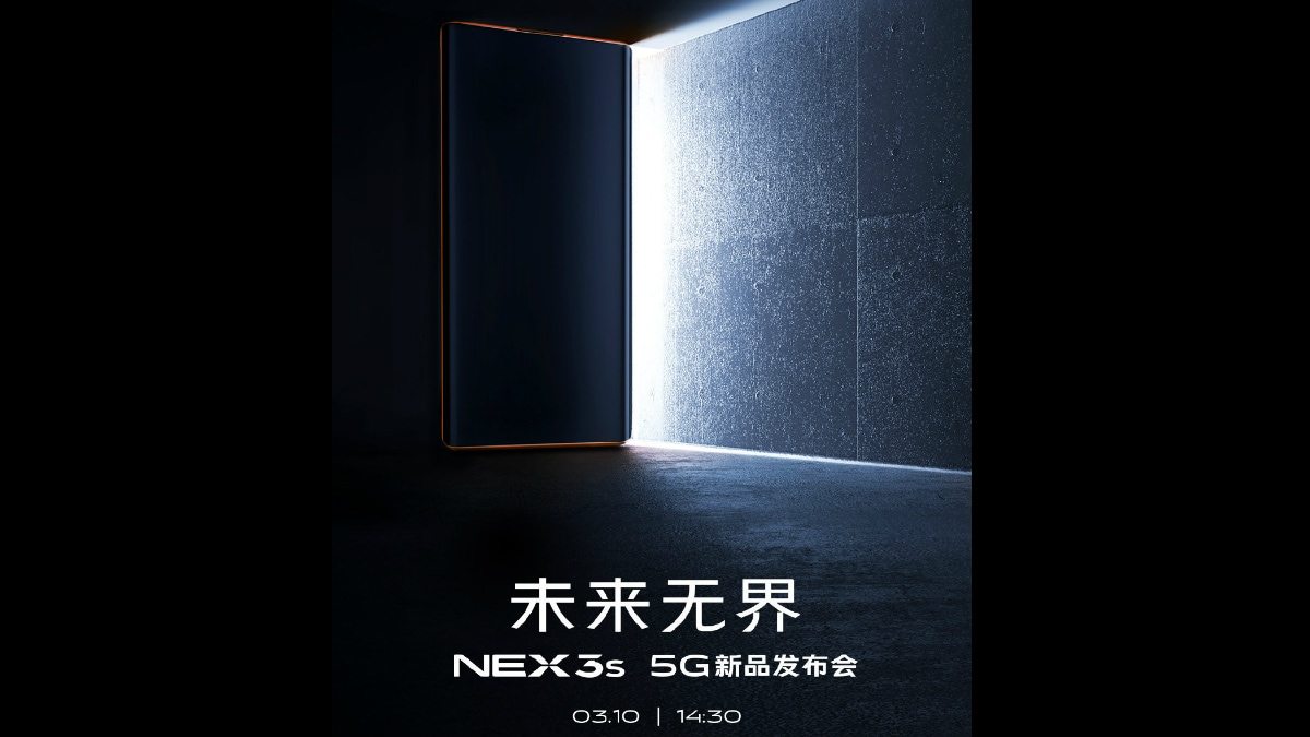Vivo Nex 3S 5G Launch on March 10, Expected to Be an Upgrade to Nex 3 5G