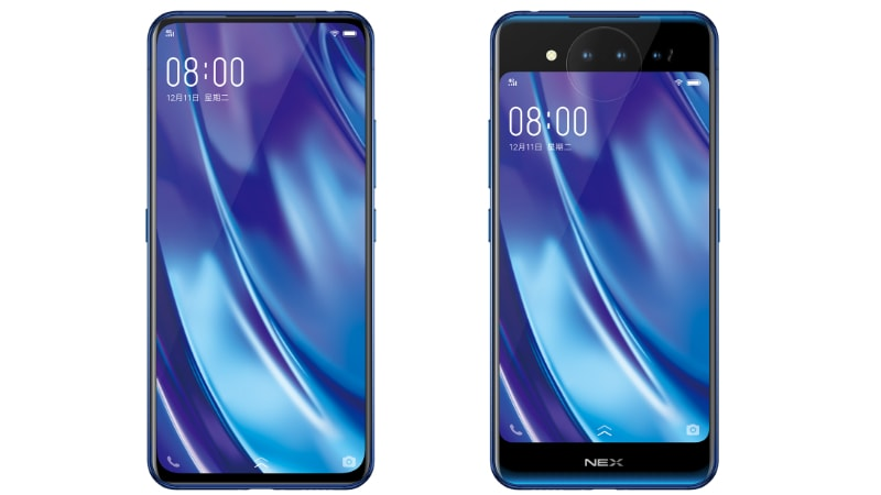 Vivo Nex Dual Display Edition Launched, Features 2 AMOLED Displays and 3 Cameras