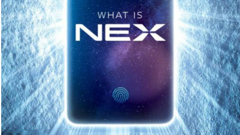 Vivo Nex Teaser Confirms Pop-up Selfie Camera Ahead of June 12 Launch