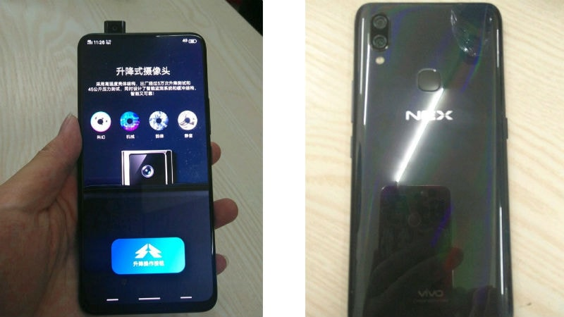 Vivo Nex Specifications Leak Again Ahead of Launch Today, Spotted on Geekbench