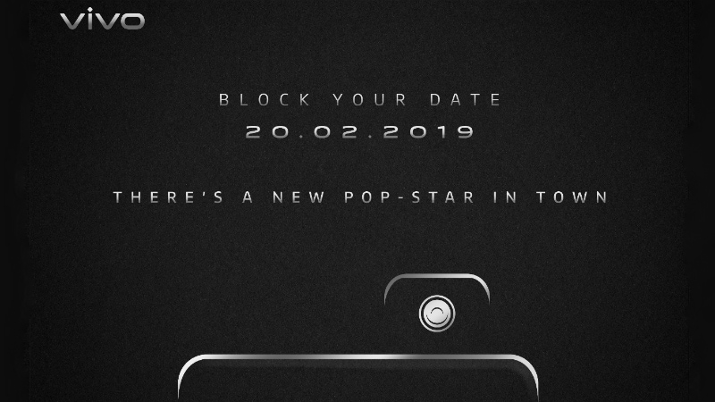 Vivo Set to Launch New Pop-Up Selfie Camera Phone in India on February 20, Vivo V15 Pro Likely