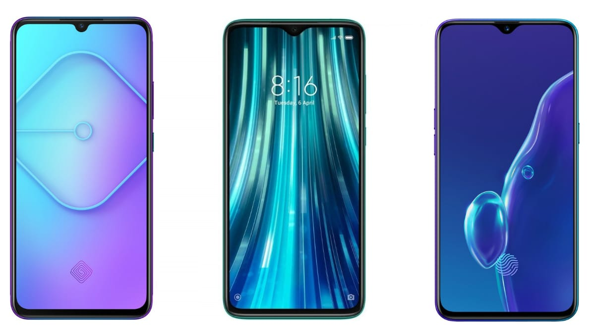 Vivo S1 Pro vs Redmi Note 8 Pro vs Realme X2: Price in India, Specifications Compared