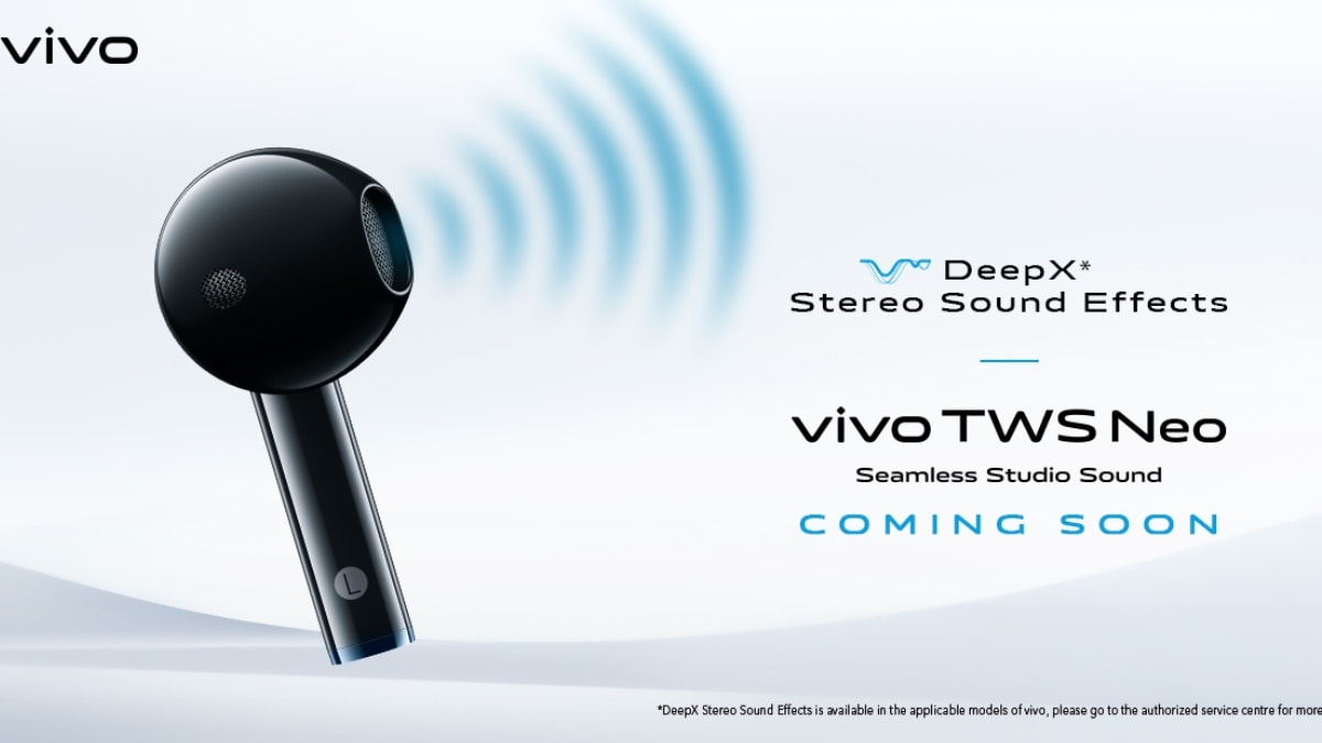 Vivo TWS Neo True Wireless Earbuds to Launch in India Soon, Company Teases