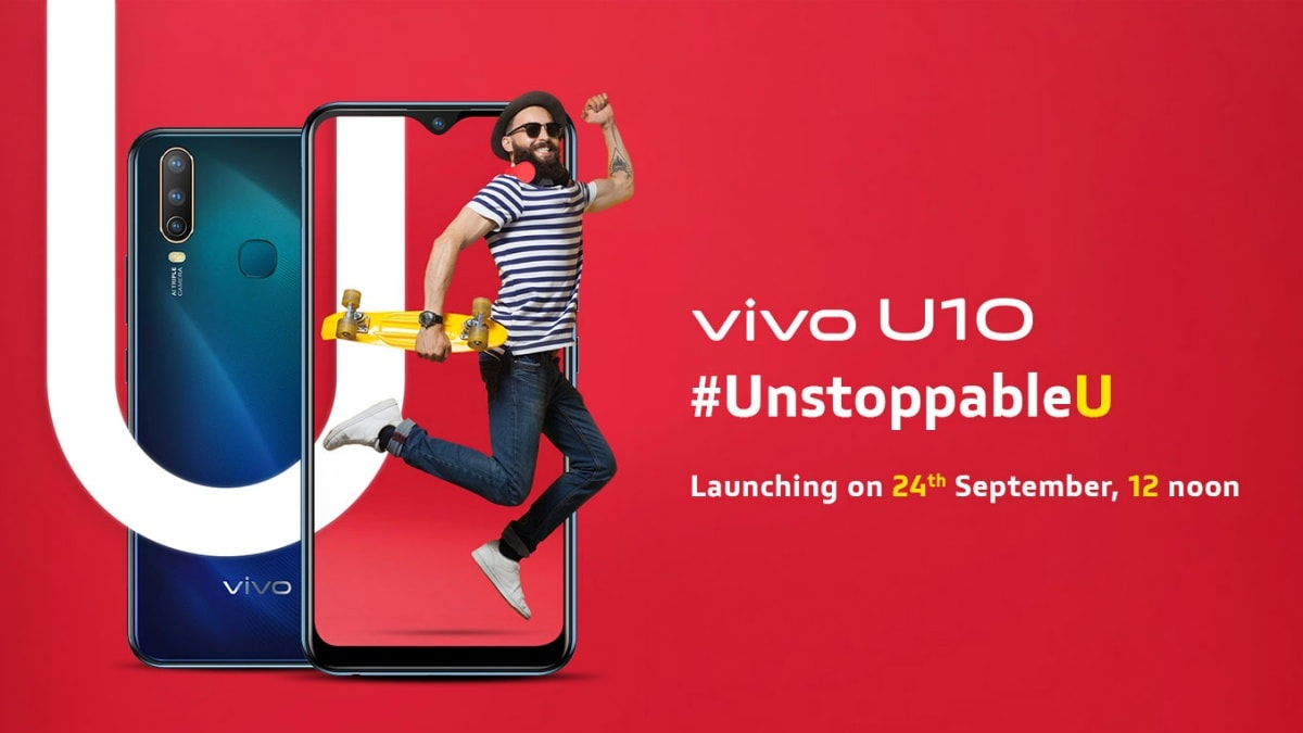 Vivo U10 Packs a Triple Rear Camera Setup With a 13-Megapixel Main Shooter: Live Updates