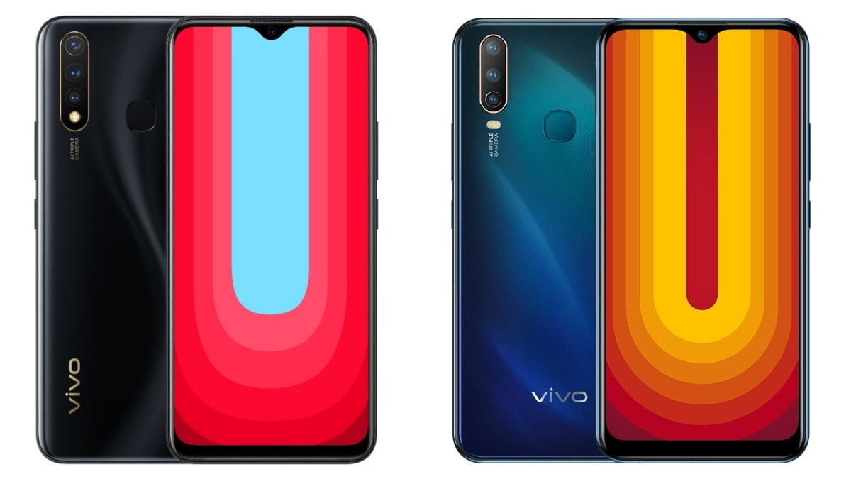 Vivo U20 vs Vivo U10: Price in India, Specifications Compared