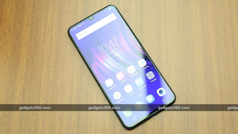 Vivo V11 Pro With In-Display Fingerprint Sensor, Waterdrop