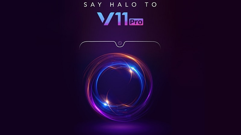 Vivo V11 Pro Teaser Image Reveals Design Ahead of September 6 Launch