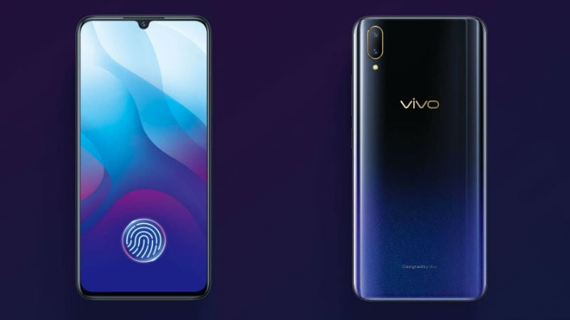 Vivo V11, V11i With 'Waterdrop' Display, Under Display Fingerprint Sensor Launched: Price, Specifications
