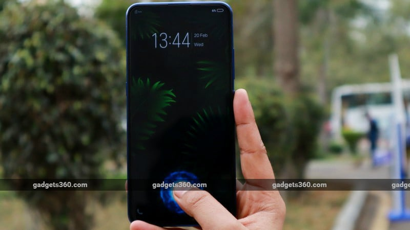 vivo v15 pro fingerprint gadgets 360 vivo