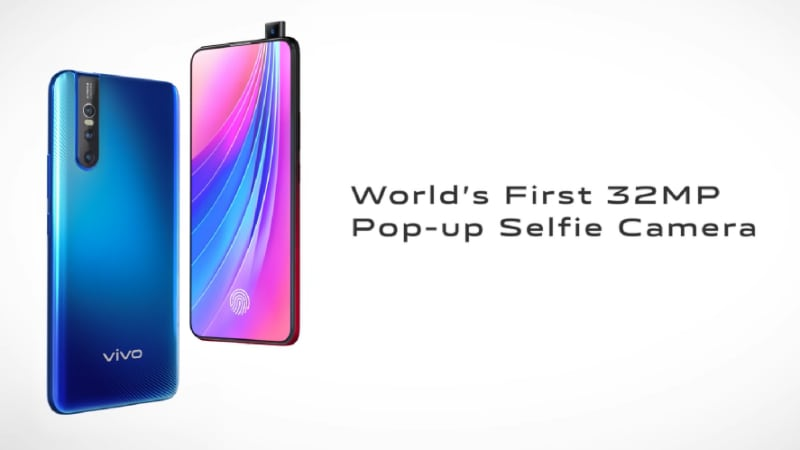 Vivo V15 Pro Price in India and Specifications Leak, Said to Sport a Super AMOLED FullView Display