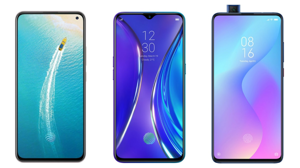 Vivo V17 vs Realme XT vs Redmi K20: Price in India, Specifications Compared