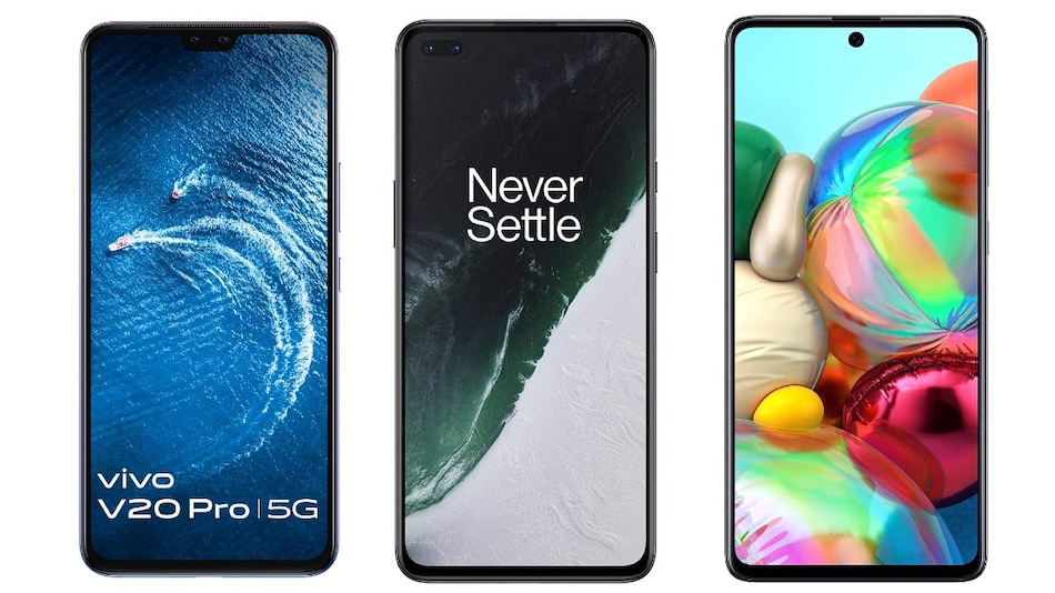Vivo V20 Pro 5G vs OnePlus Nord vs Samsung Galaxy A71: Price in India, Specifications Compared