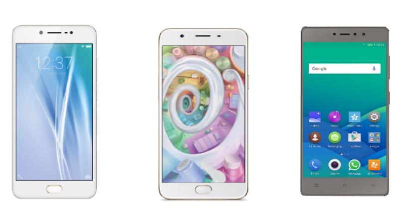 Vivo V5 vs Oppo F1s vs Gionee S6s: The Sub-Rs. 18,000 Selfie Smartphone Battle
