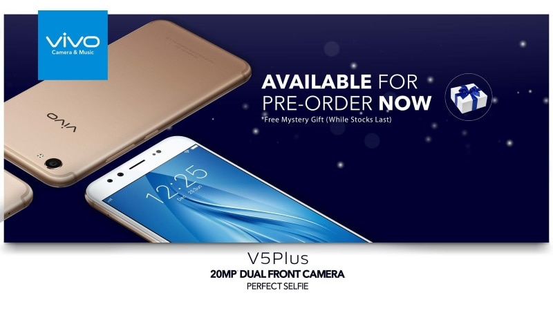 Vivo V5 Plus With Dual Front Cameras Gets Listed by Third-Party Retailer; Price, Specifications Revealed