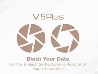 Vivo V5 Plus India Launch Set for January 23