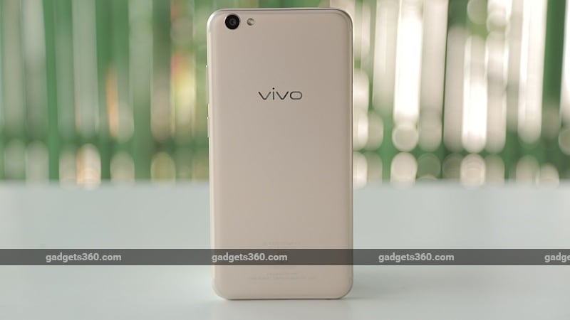 vivo v5s back gadgets360 vivo