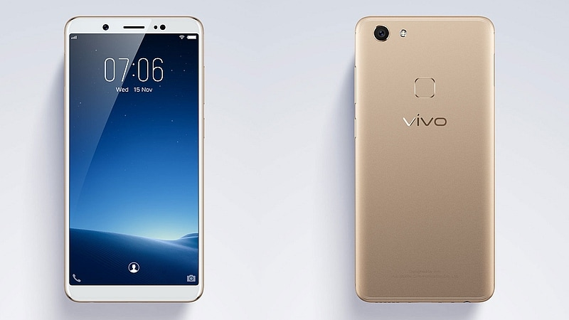 Vivo V7 With 5 7 Inch 18 9 Display 24 Megapixel Front