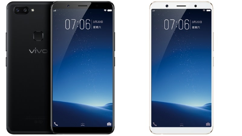 Vivo X20, X20 Plus With Full View Display, Dual Cameras Launched: Price, Specifications