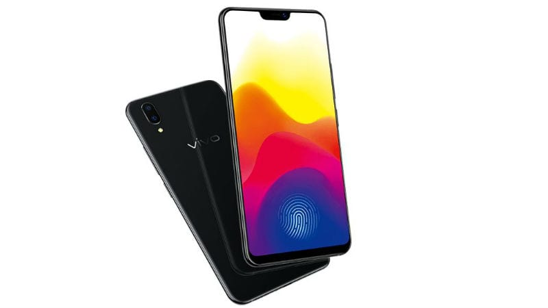 Vivo's concept phone has a half-screen in display fingerprint sensor