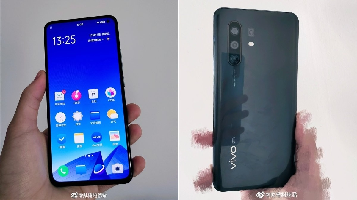 Vivo X30 Pro Hands-On Images Leak, Tip Quad Rear Cameras, Hole-Punch Design