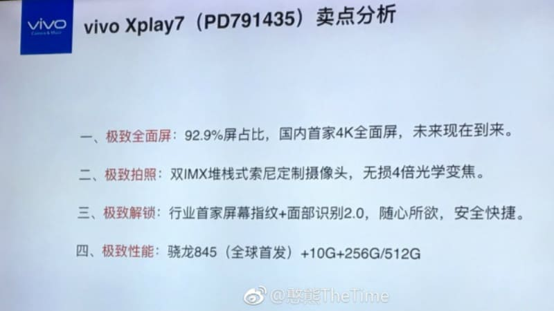 vivo xplay7 leaked weibo Vivo Xplay7 Leaked Weibo