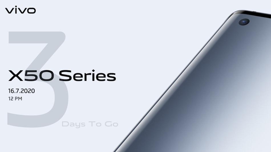 Vivo X50, Vivo X50 Pro Launching in India on July 16