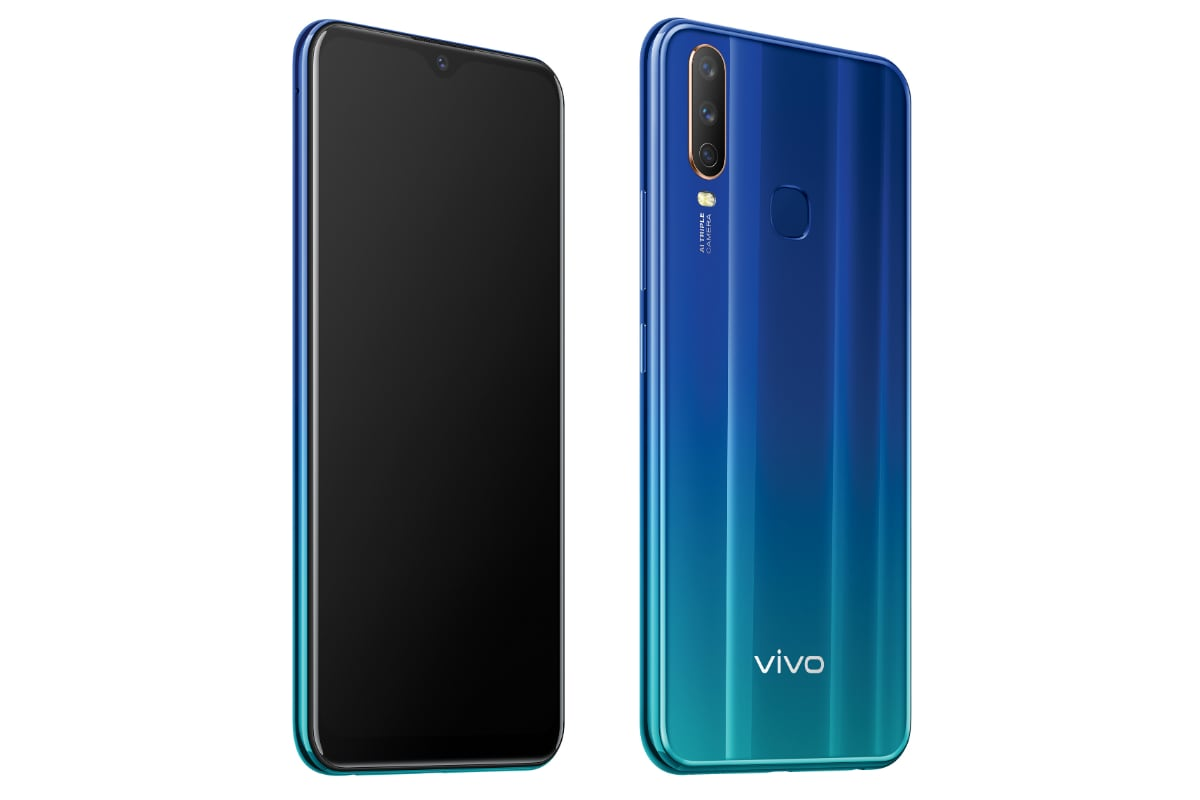 Vivo Y12 With Triple Rear Cameras, 5,000mAh Battery Launched