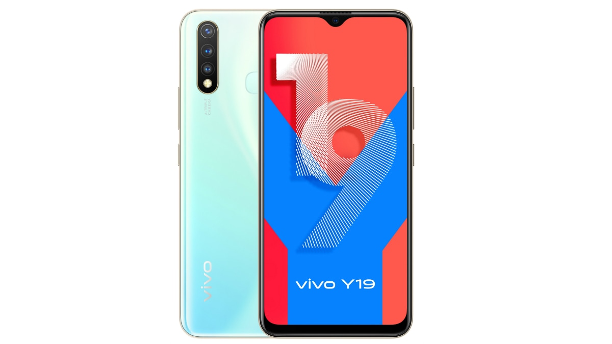 Vivo Y19 With Triple Rear Cameras, Waterdrop-Style Display Launched in India: Price, Specifications
