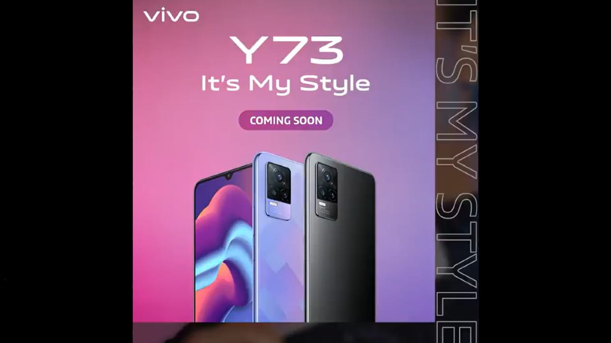 Vivo Y73 India Launch Teased to Take Place Soon, Design Revealed